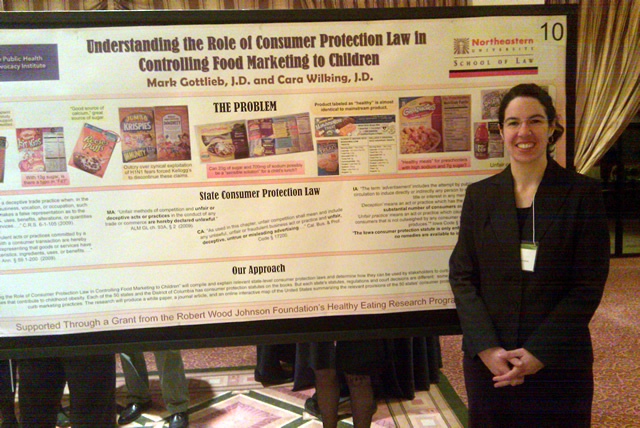 Staff Attorney Cara Wilking Presents Poster