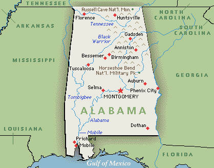 Map Of Alabama And Florida.Consumer Protection Phai Page 3