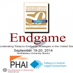 Accelerating Tobacco Endgame Strategies in the United States: September 19-20 in Boston