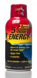 Berry 5-Hour Energy drink