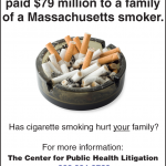 PHAI's Center for Public Health Litigation Launches Ad Campaign Seeking Cigarette Industry Victims