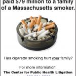 PHAI's Center for Public Health Litigation Launches Ad Campaign Seeking Cigarette Industry Victims